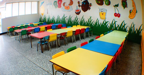 Decoracion comedor escolar buscar con google crie for Ideas decoracion navidad colegio