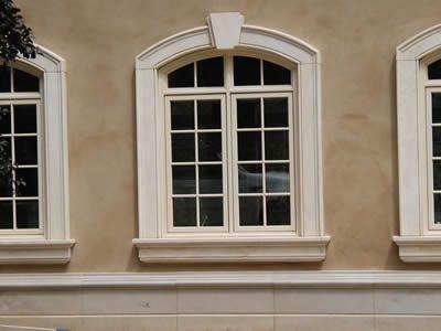 Stucco trim details at windows custom detailed trim and for Modern alternatives to stucco