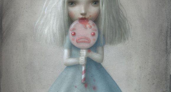 Nicoletta Ceccoli - Illustration - Beautiful Nightmare