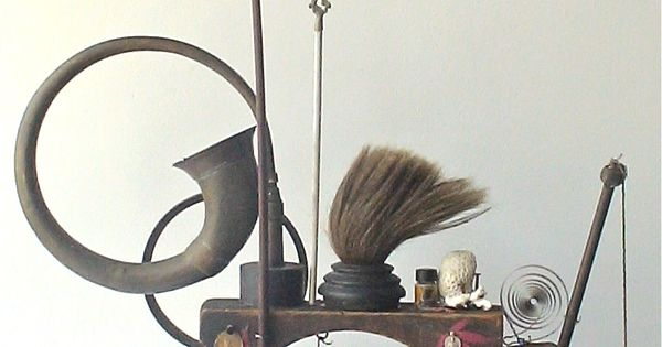 Assemblage art by mike bennion 39 a three pipe walk 39 my for Brammer kitchen cabinets
