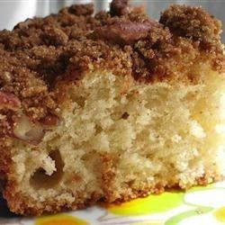 Make Ahead Sour Cream Coffee Cake Recipe Sour Cream Coffee Cake Coffee Cake Recipes Coffee Cake