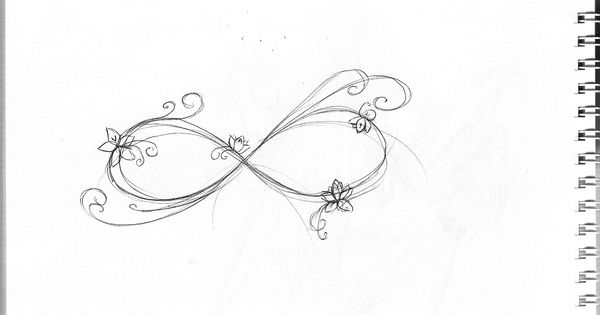 infinity tattoo -really like this would like my kids names or initials