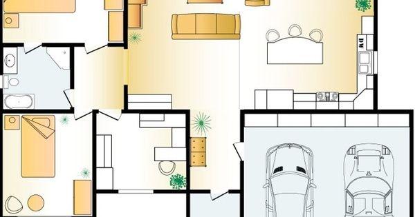 foto denah rumah idaman 3 kamar tidur 1 km 6 ada garasi