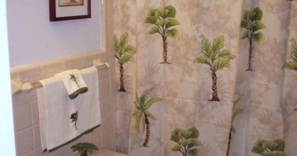Palm tree decorating ideas palm tree bath bathroom for Palm tree bathroom ideas