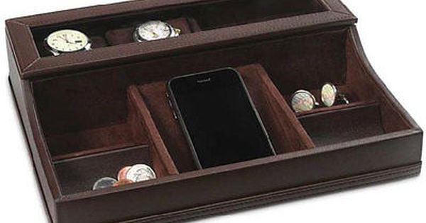 Men\u2019s valet Father/'s Day gift Men\u2019s jewelry organizer Men\u2019s vintage valet Anniversary gift Trinket tray