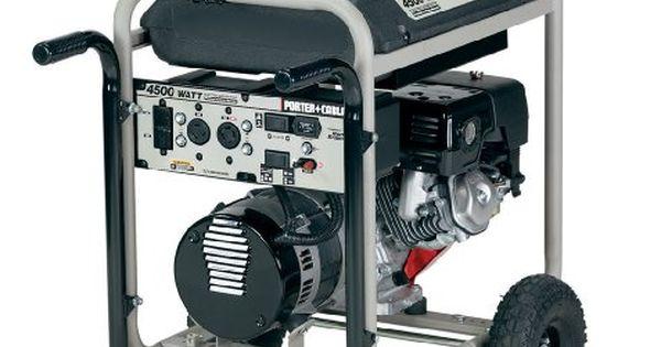 Best PorterCable H450ISW 4,500Watt 9 HP Portable
