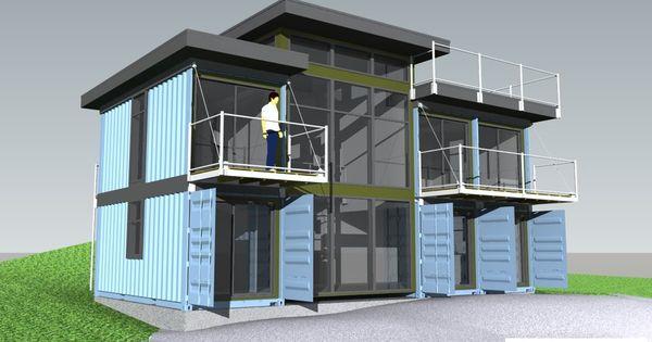 Container house vivir en el campo pinterest casas - Arquitectura contenedores maritimos ...