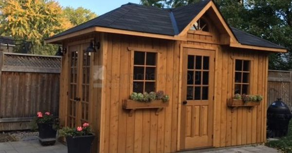 Sonoma Garden Shed In Missisuaga Ontario Shed Cottage Kits Small Wood Shed