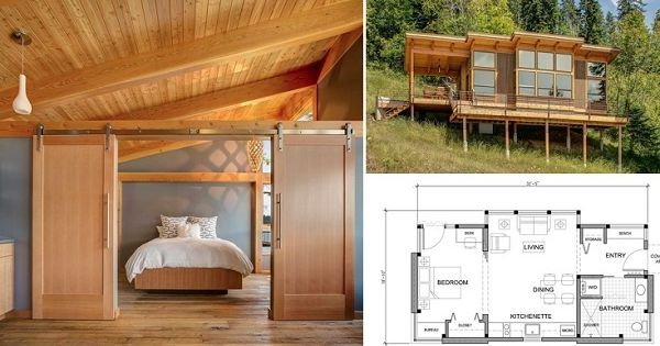 550 Sq Ft Prefab Timber Cabin Http Www