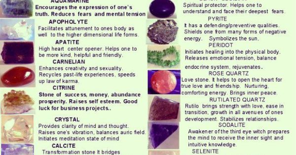 spiritual gemstones and their meanings crystals and
