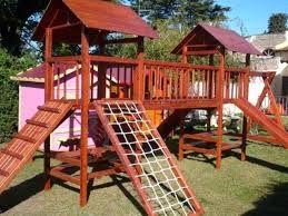 Resultado De Imagen De Como Construir Casita De Madera Elevada Para Niños Casa De Juegos Exterior Casa De Juegos Para Niños Casita De Madera Infantiles