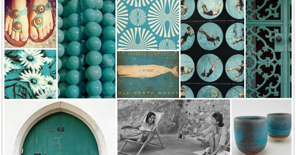 dark turquoise wall color and amalfi theme?