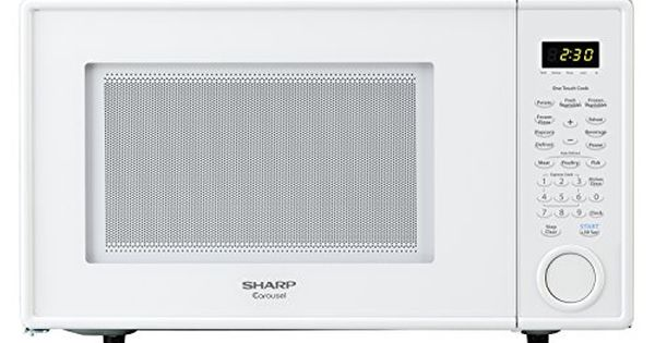 Sharp Countertop Microwave Oven Zr309yw 1 1 Cu Ft 1000w White
