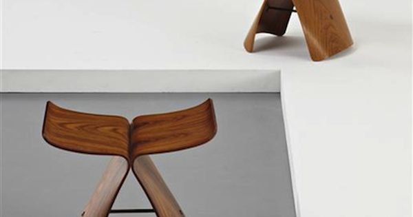 Butterfly Stool Designed By Sori Yanagi In 1956 Pure And