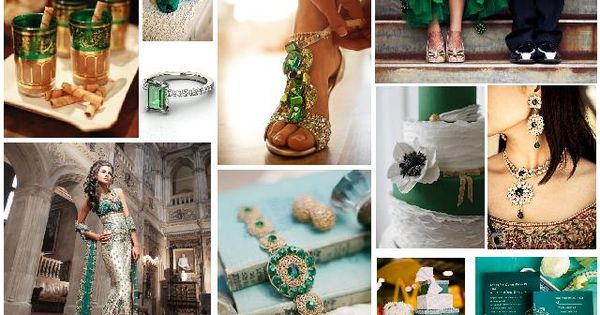 emerald green mood board - 2013 pantone colour of the year  Pantone ...