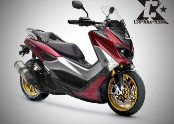 Konsep Modifikasi Yamaha Nmax Ganteng Maximal Motor Motor Yamaha Gambar