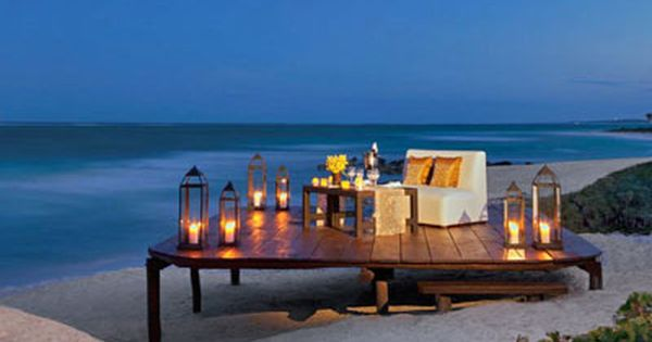 Every Good Morning Starts With A Good Night Romantic Candle Light Dinner On The Beach 3 Dreams Tulum Resort Dreams Tulum Tulum Hotels