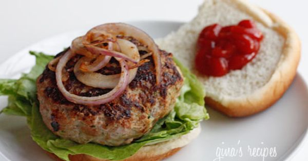 My favorite recipe!!!! Yum yum yum...Turkey Zucchini Burgers - lean ground turkey