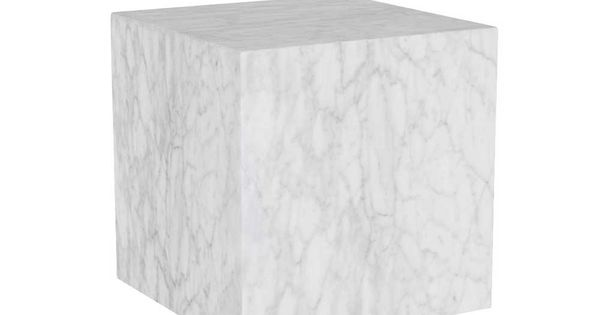 Timothy Oulton Marble Cube Side Table