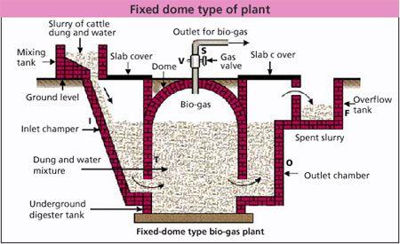 Biogas Plant Anaerobic Digester Blog Biogasplant Picture Biodigester Gasifier Biogas