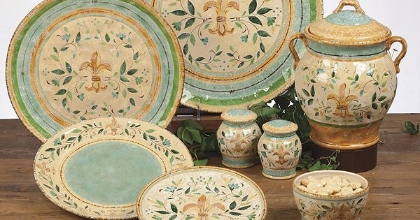 Tuscan Dinnerware Tuscan Provence Amp Floral Dinnerware