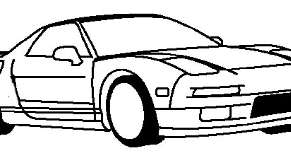 honda nsx 1990 coloring page honda car coloring pages teacher stuff pinterest honda cars honda and teacher stuff