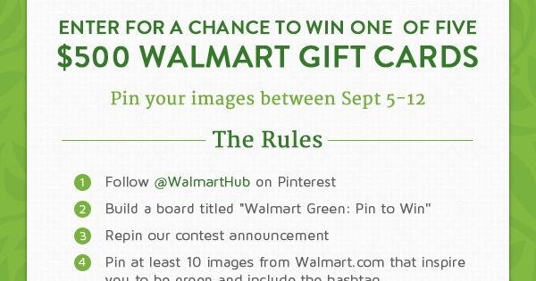 Pinterest Case Study: Walmart Goes Green for the Pin!