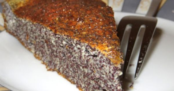Epic Low Carb curd and poppy seed cake aka Quark Mohn Kuchen in german