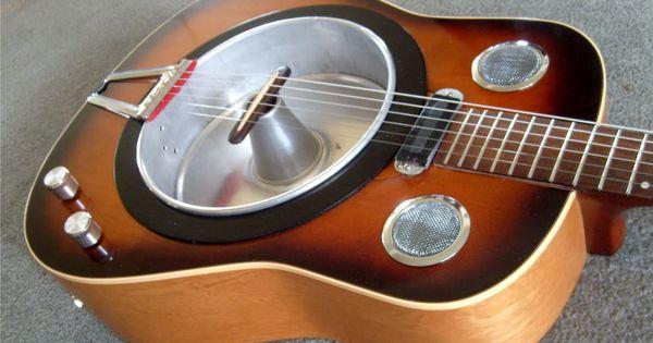 Homemade Resonator Telecaster Guitar Forum Guitar Resonator Guitar Box Guitar