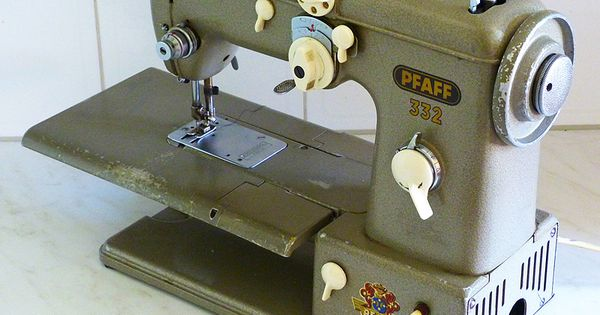 Pfaff 332 A Real Workhorse That Does It All Without Breaking Sweat Sewing Pinterest