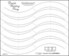 Double Wedding Ring Printed Fusible Interfacing Quilt In A Day Fusible Double Wedding Rings Quilt In A Day Wedding Ring Quilt
