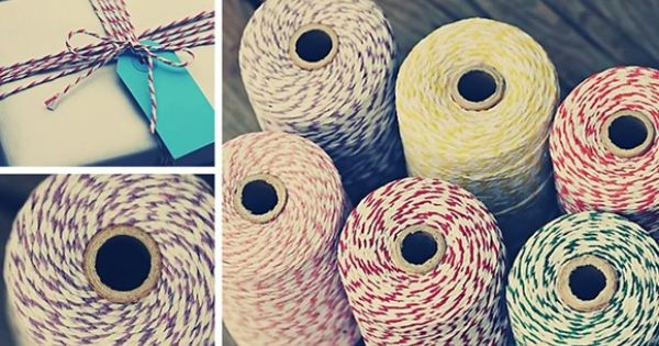 Bakers twine twine and love this on pinterest