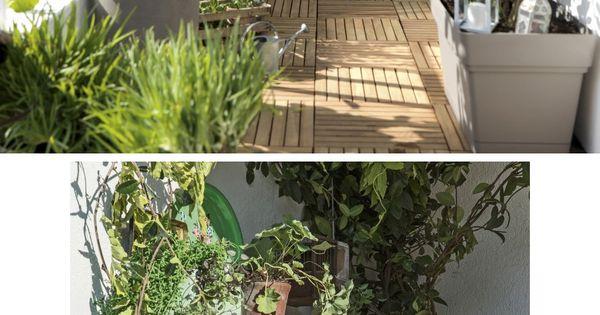 Am nager une petite terrasse sans l encombrer jardines - Porches leroy merlin ...