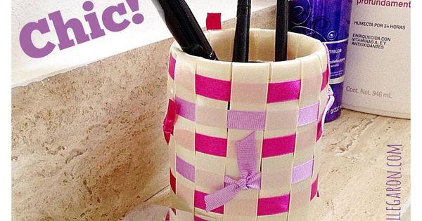 Veinte formas de reciclar envases latas vidrio pl stico - Manualidades con envases ...