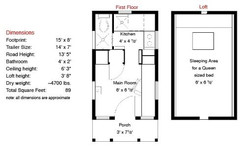 One Of Jay Shafer S Original Tumbleweed Tiny Houses For Sale Again Tiny House Floor Plans Tiny House Plans Free House Floor Plans