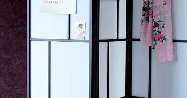 Slaapkamer Hemnes : Inspirerad av Japan: RISÖR skärmvägg Sophies ...