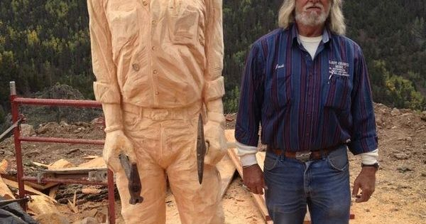Chainsaw art portrait colorado springs co wood
