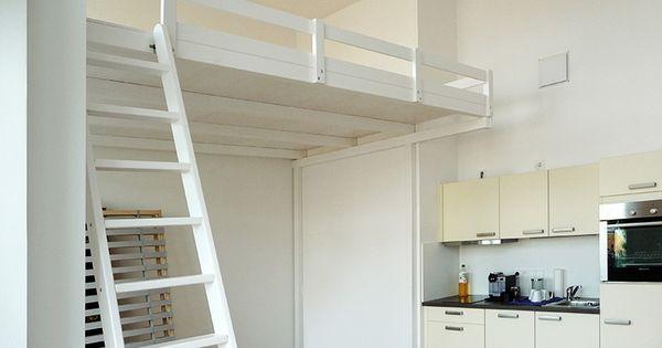 bild 12 hochbett hochetage mit treppe einrichtung. Black Bedroom Furniture Sets. Home Design Ideas
