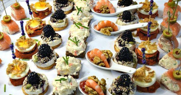 Canapes variados f ciles y r pidos aperitivos y dem s for Canapes y aperitivos