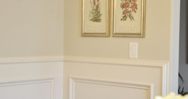 Wainscoting On Walls With Rounded Corners For The Home