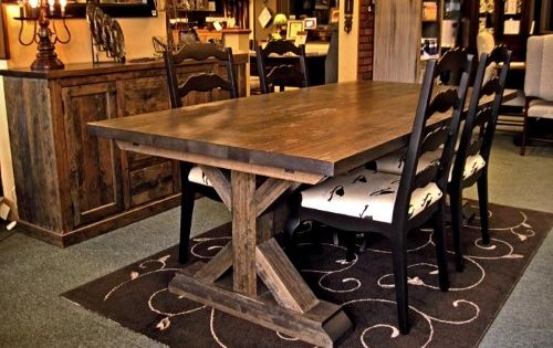 Table Croisee Dining Table Table Rustic Dining Table