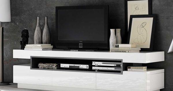 tv lowboard in hochglanz wei 200 cm breit jetzt bestellen. Black Bedroom Furniture Sets. Home Design Ideas