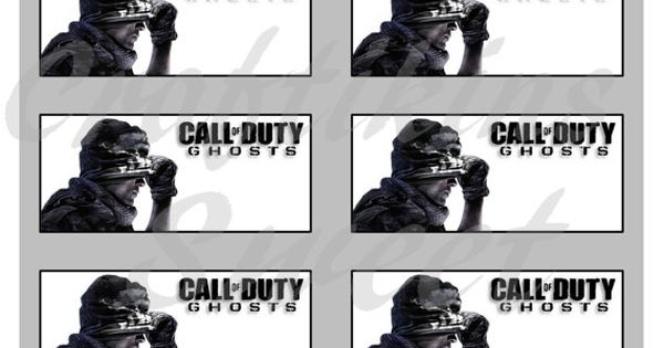Call Of Duty COD Ghosts Inspired