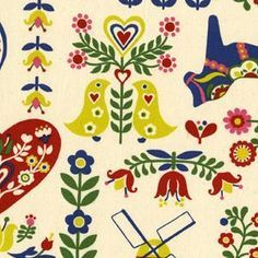 Scandinavia On Pinterest 164 Pins Www Pinterest Com 236 236 Search By Image Dala Horses Scandinav Kokka Fabric Scandinavian Folk Art Scandinavian Pattern