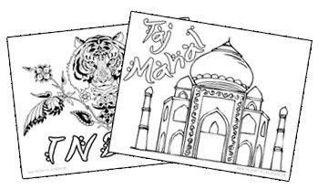 India Crafts For Kids Free Art Projects India Crafts India For Kids Coloring Pages