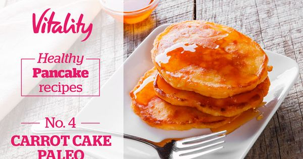 CARROT CAKE PALEO PANCAKES | Breakfast | Pinterest | Paleo Pancakes ...