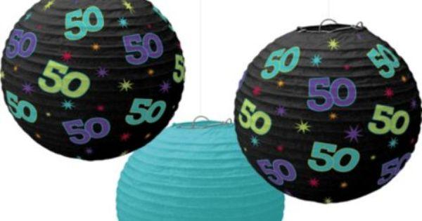 ... birthday/Mark's 50th birthday | Pinterest | Parties, Paper Lanterns