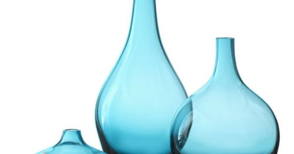 ikea glass vase salong turquoise blue vase unique mouth. Black Bedroom Furniture Sets. Home Design Ideas