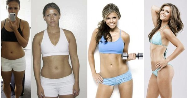 Katrina Hodgson Before and After - ToneItUp Motivation