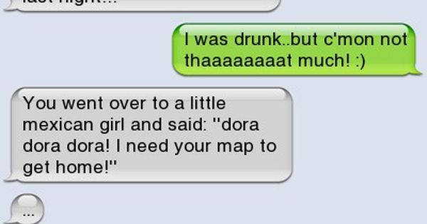drunk dora - - Autocorrect Fails and Funny Text Messages ...